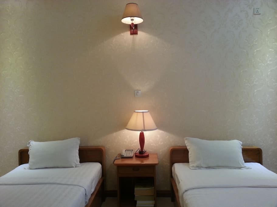 Hotel Interior 1 (2 single beds)