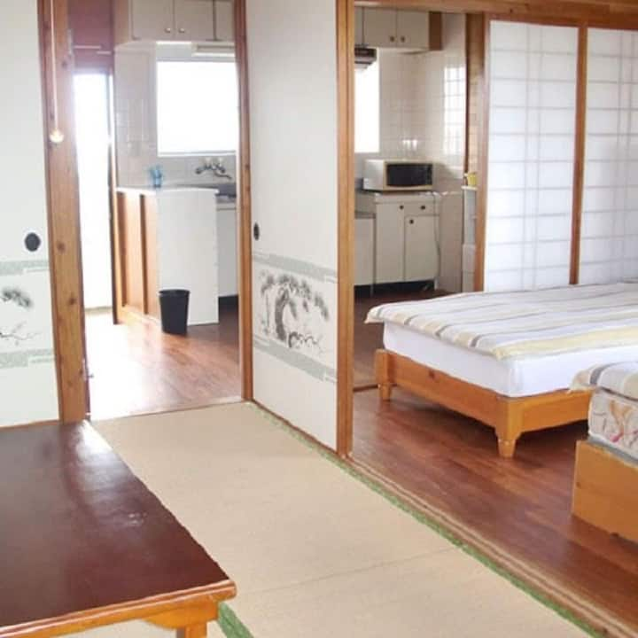 Standard plan Japanese style room/twin bed