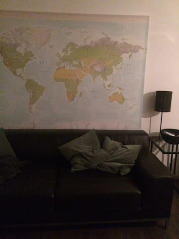 Cozy room in modern apartment - Düsseldorf - Wohnung