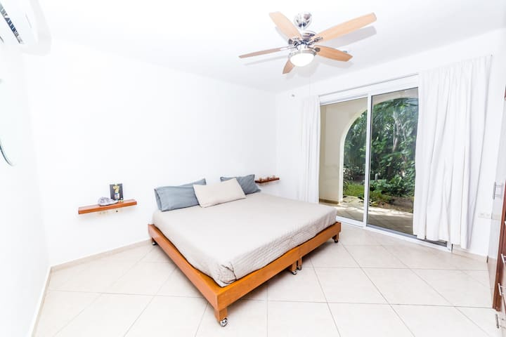 Direct access from bedroom to private terraze