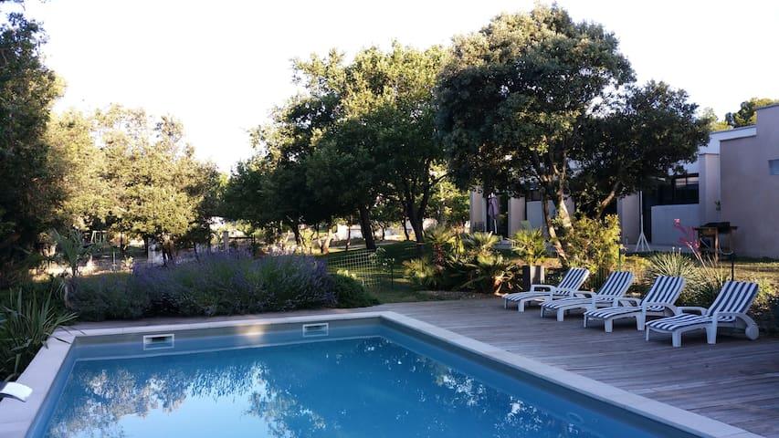 La Faventine, gites, en Drôme Provençale - Grignan - Hotel ekologiczny