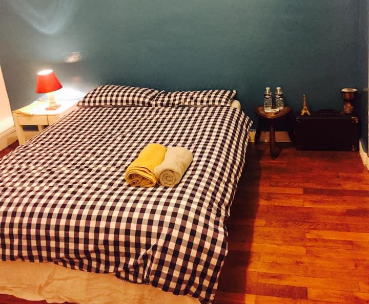 Chambre Double room LYON 7