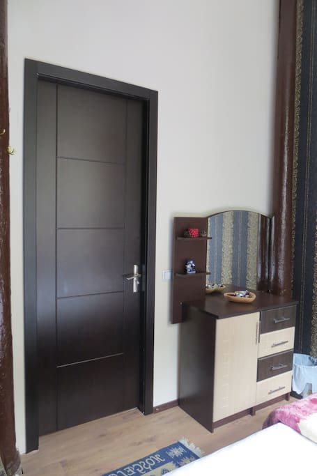 Room with chest of draws
