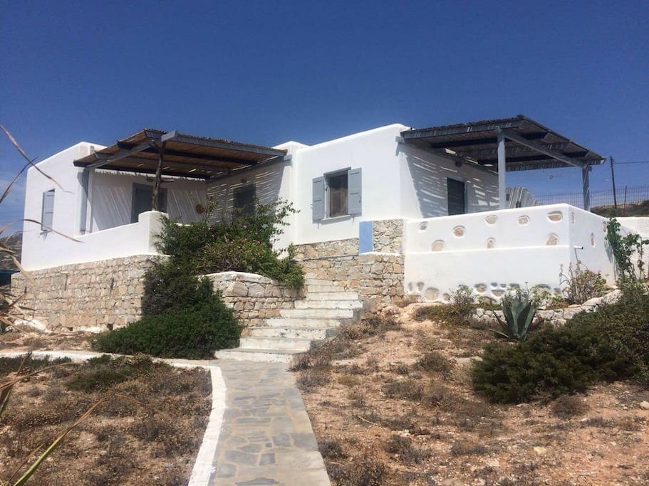 """The whole house, """"appartment with amazing aegean vew"""" """"room with a vew"""""""