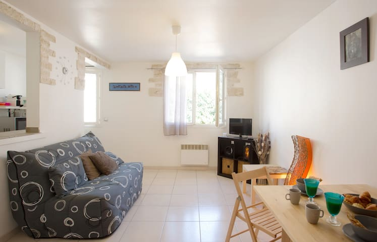 Charmant T1 en Provence - La Farlède - Apartamento