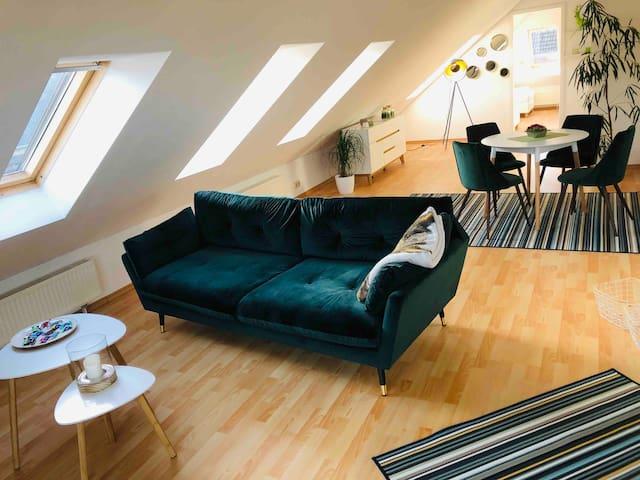 Neue 3,5 Zimmer Wohnung + Küche und Bad