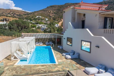 Luxury Apartment with Pool & Seaview, 200m Beach
