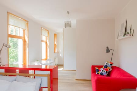 Warm and sunny apartment in Riga