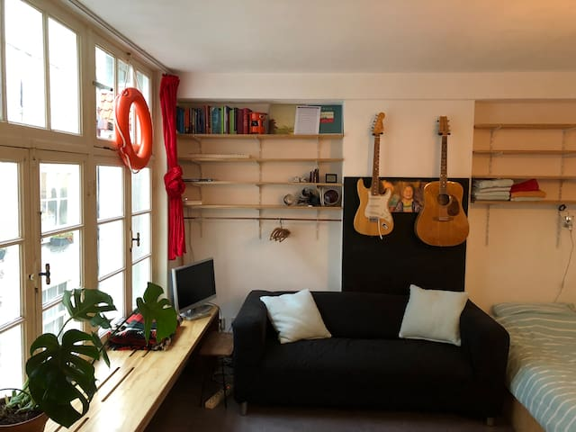 Cosy and quiet studio in the heart of Amsterdam