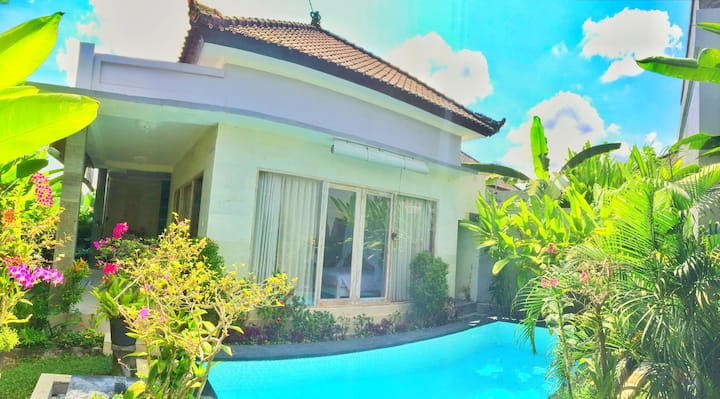 Ubud private house with pool #D'vivi 2