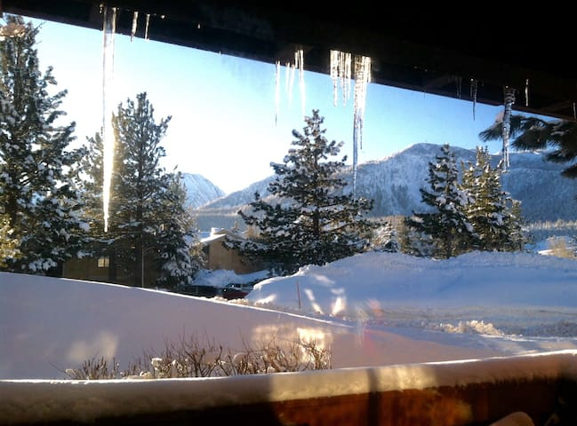 Modern 1BR, Mtn View, Sleeps 6, New Kitchen, Pets - Mammoth Lakes - Wohnung