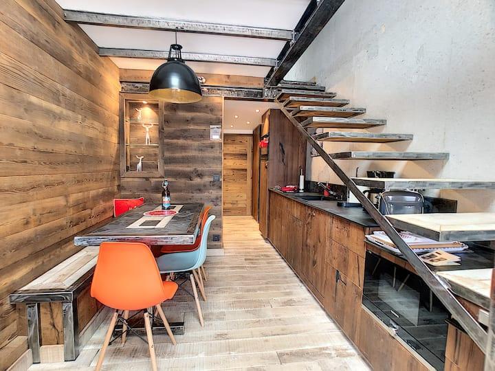 Appartement design, chaleureux, fonctionnel 4 pers