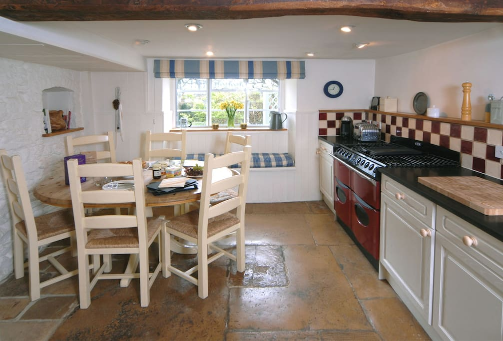 Another view of the Kitchen/Dining Room