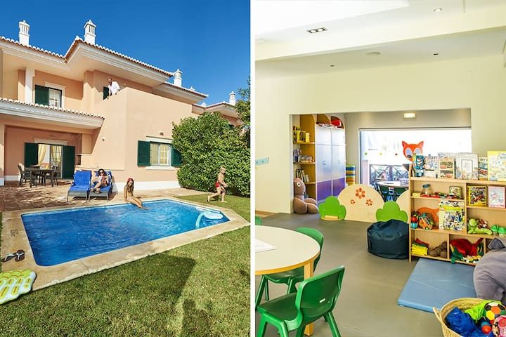 3 bedroom townhouse in Quinta do Lago with pools and Kids Club