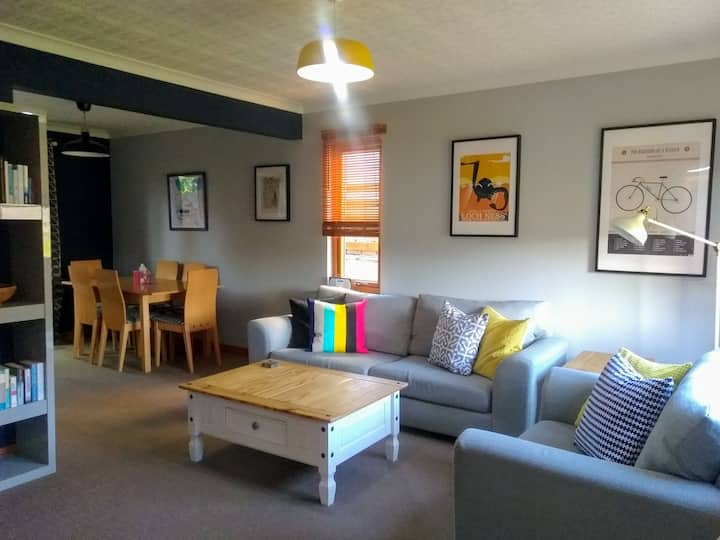 Quiet setting, 15min walk from Fort William centre