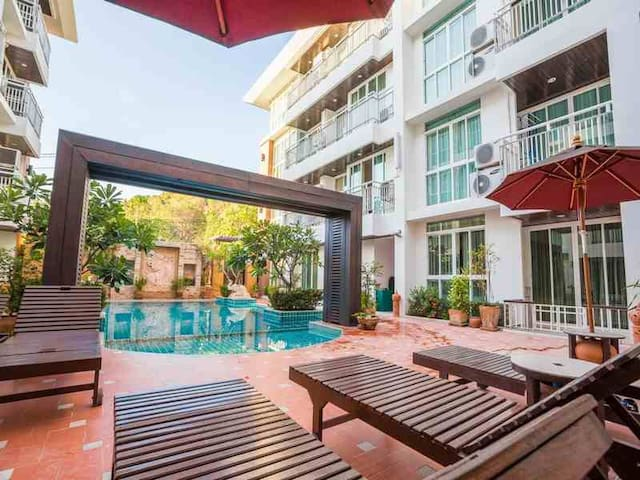 Pool front one Bedroom +GYM+BBQ - Ko Samui - Serviced apartment