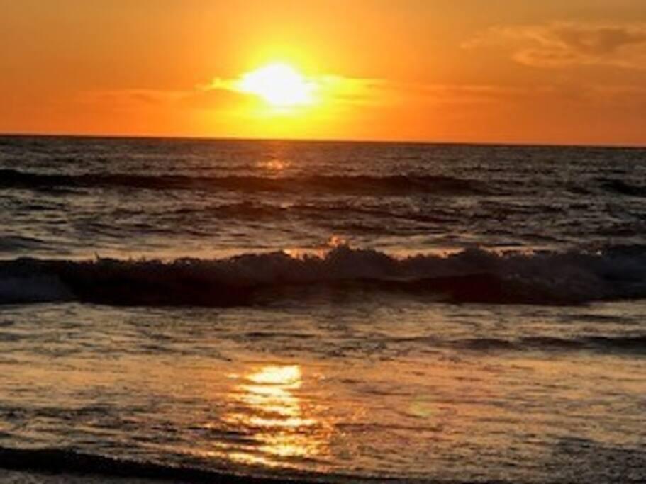 Sunset at Solana Beach