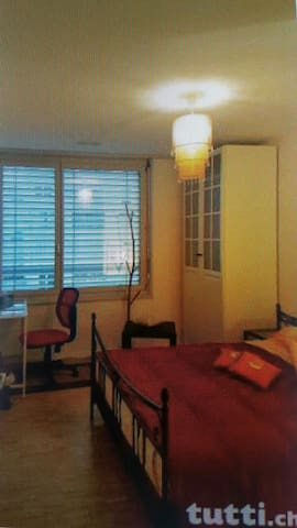 Nice room with privat bathroom and dinner included - Glattpark