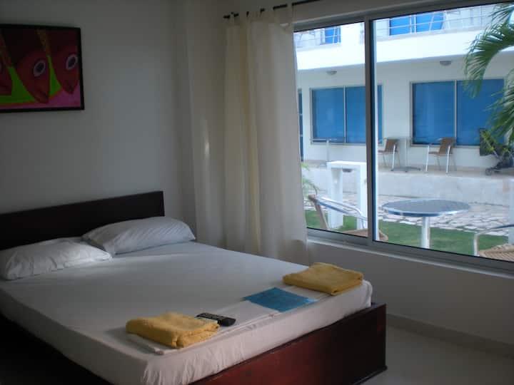 Habitación de Pareja - Hotel Portoalegre Coveñas