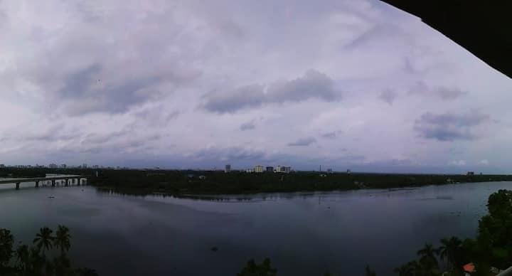 Enchanting Waterfronts and Skylines at Thevara