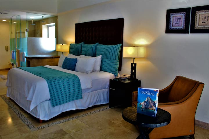 2 Bedroom Suite, in Heart of Cabo on Medano Beach