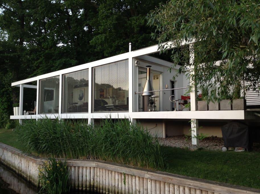 Seelodge direkt an der havel bungalows zur miete in for Bungalow berlin
