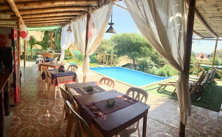 Habitación privada en Playa Pocitas Mancora