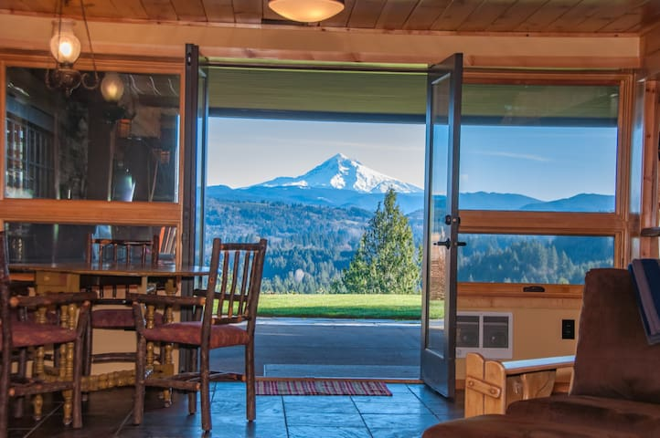 Gorgeous Mt. Hood View, Ski, Hike or Mt.Bike