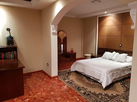 Luxury spacious room with airport pickup