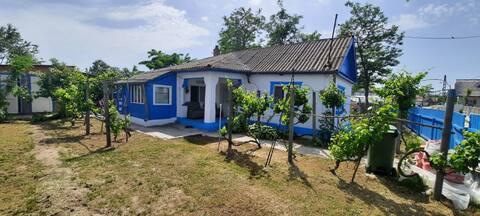 Traditional House in Danube Delta