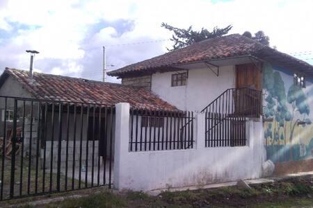 Agroecològicos, casas en el campo. - Pillaro - Oda + Kahvaltı
