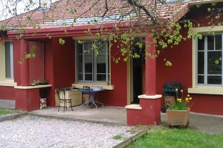 La Maison rouge : chambre blanche - Le Monastier-sur-Gazeille