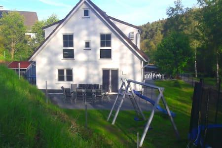 Ferienhaus QUELLENHAIN (5 Schlafzi.) kinderfreundl