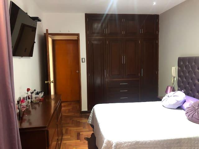 Habitación privada 2-20min Aeropuerto-San Miguel
