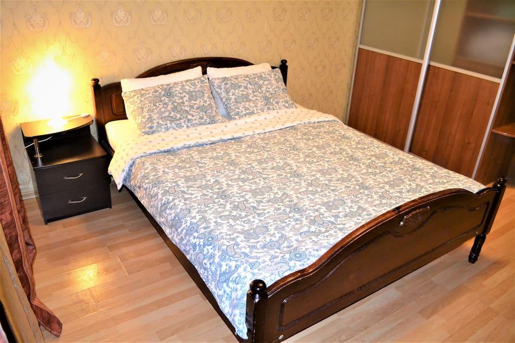 Вторая спальня кровать 160*200
