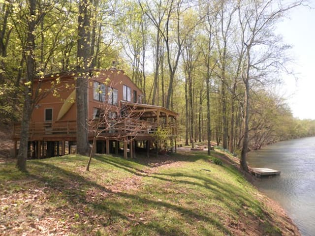 River Song Retreat - Great Cacapon - Cabane