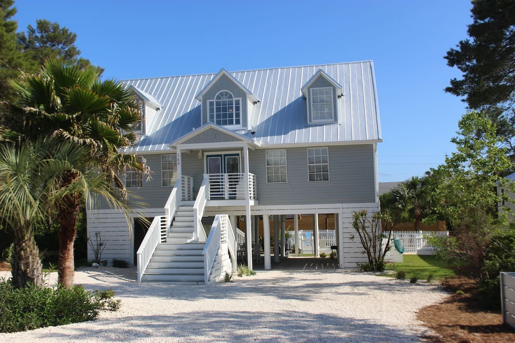 The Searight House Heated Pool Walk To Beach Houses For Rent In Santa Rosa Beach Florida