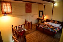 Duplex room, upper part