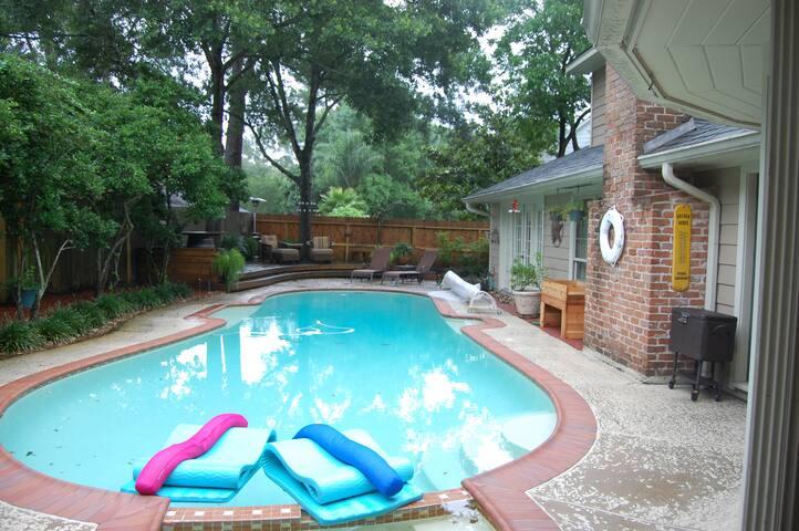 No flooding here!  $125 per night per room.