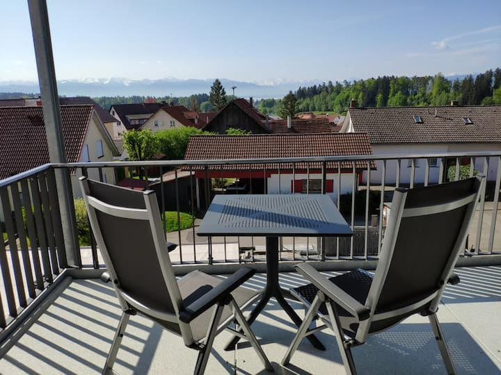 Ferienwohnung Säntis mit Alpenpanorama