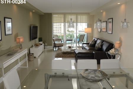 HomeAtSun: Frente al Mar - Aventura Mall 3d/2b