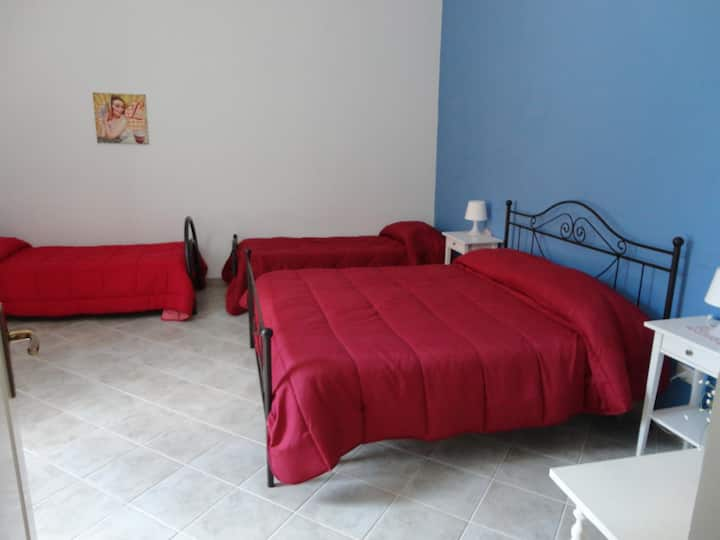 "Bed & Breakfast ""Baciati dal Sole"" - Quadrupla"