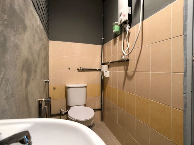 Private Bathroom with Hot Shower for more privacy