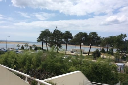 Bel appartement, terrasse vue mer - Guidel Plages