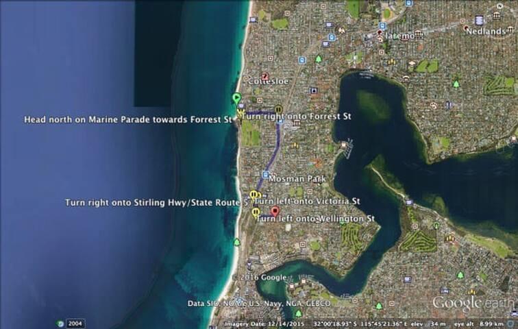 Exclusive Mosman Park, 6 mins Cottesloe Beach
