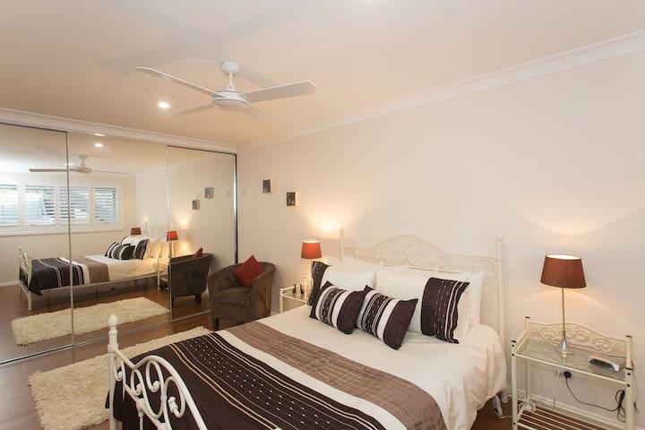 Bedroom  Electric Blanket on bed