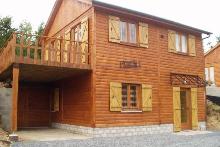 Charming holiday home next to the town of La Roche en Ardennes and L' Ourthe