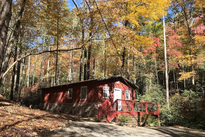 Pisgah Waterfall Cabin