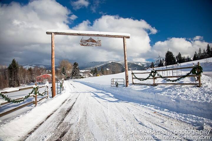 Charming Homestead Cabin - Mount Hood - Chatka
