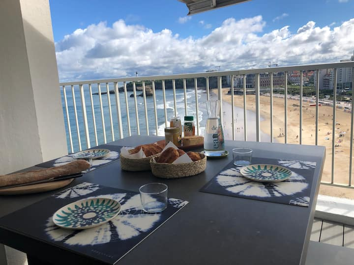 Sea view penthouse in Biarritz - Grande plage